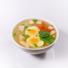 Суп з курчам