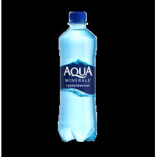 """Вода мінеральна """"Aqua Minerale Life"""" сильногазована 0,5 л."""