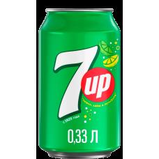 Напій 7UP 0,33 ж/б