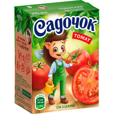 Сік Садочок Томатний з сіллю 0,2